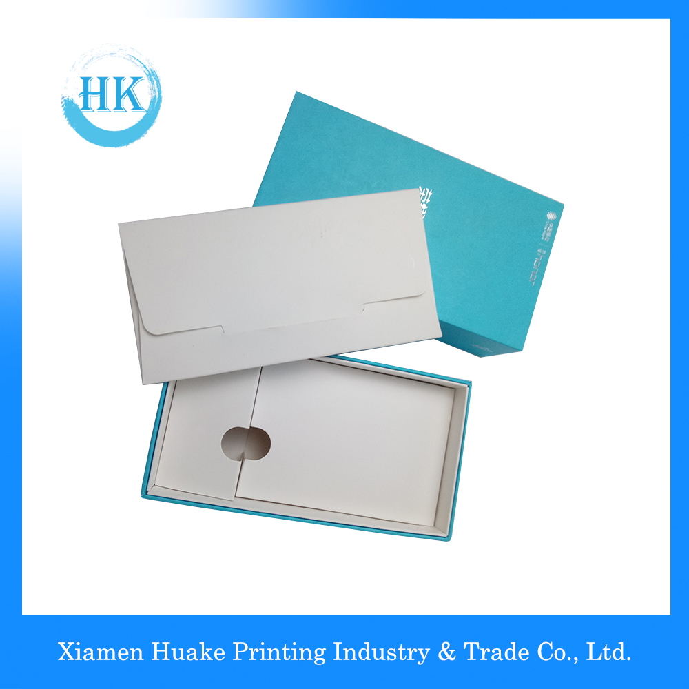 Luxury Matte Finishing Hardboard Packing Box With Hot Stamping